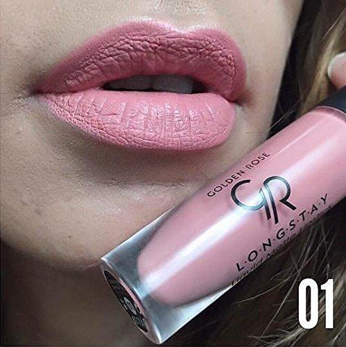 Golden Rose Long Wearing Longstay Liquid Matte Lipstick 01 Bold