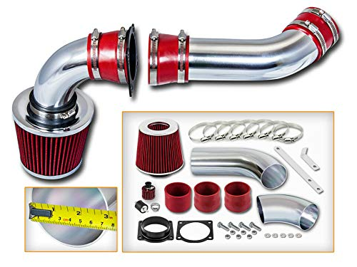 New Parts - RED COLD AIR INDUCTION INTAKE KIT + DRY FILTER FOR Mazda 01-03 B4000 4.0L V6 ()