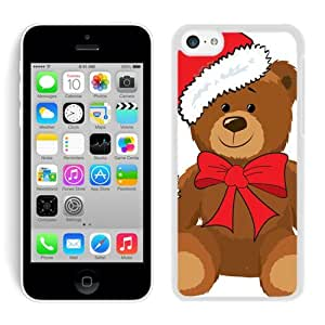 Recommend Design Iphone 5C TPU Case Christmas Bear White iPhone 5C Case 3