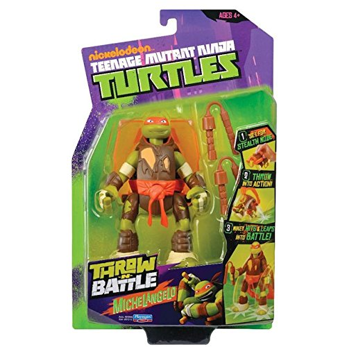 Teenage Mutant Ninja Turtles - 14cm Throw 'n Battle Raphael [UK Import]