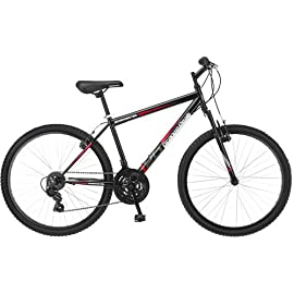 "Roadmaster Granite Peak 26"" Men's Mountain Bike (Black and Red)"