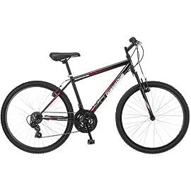 """Roadmaster Granite Peak 26"""" Men's Mountain Bike (Black and Red)"""