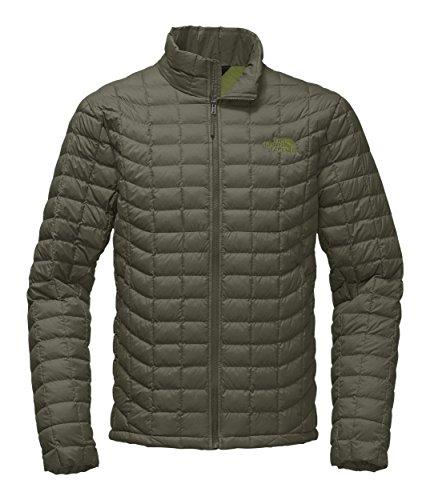 The North Face Men's Thermoball Jacket - Grape Leaf Matte - (Matte Black Leaf)