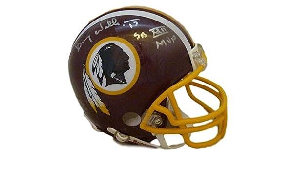 db2dbe90 Amazon.com: Doug Williams Autographed Washington Redskins Mini Helmet SB MVP  JSA: Sports Collectibles