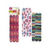 JT Cosmetics 3-Piece Foam Nail Files - 24 Pack