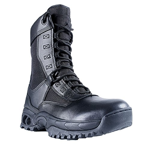 Ridge Footwear 8010ST Men's Air-Tac Ghost Zipper Steel Toe Boots - Size 13W