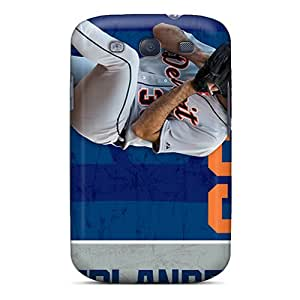 For Galaxy S3 Premium Tpu Case Cover Detroit Tigers Protective Case