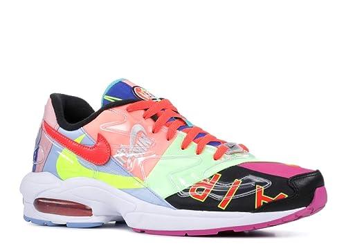 Nike Air Max2 Light QS (Atmos) Black/Bright Crimson: Amazon ...
