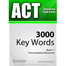 ACT Interactive Flash Cards - 3000 Key Words. A powerful method to learn the vocabulary you need.