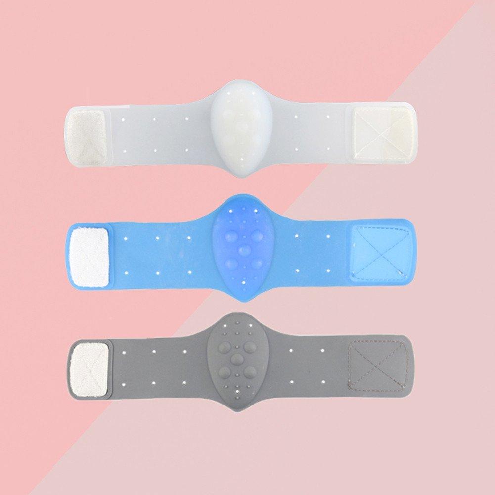 Männer und Frauen Silikon Massage Fuß Bogen Stützauflage Flache Fuß Korrektur Unterstützung Verband Fußkissen (weiß) flower205