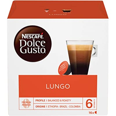 Cafe Dolce gusto CAFFE LUNGO | NESTLE Pack 3 cajas de 16 capsulas cada una