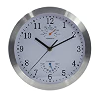 Silent Non-ticking Indoor Wall Clock wit...