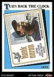 1989 Topps # 663 Turn Back The Clock Hank Aaron Atlanta Braves (Baseball Card) Dean's Cards 8 - NM/MT Braves