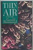 Thin Air, Gerald Hammond, 0312113390