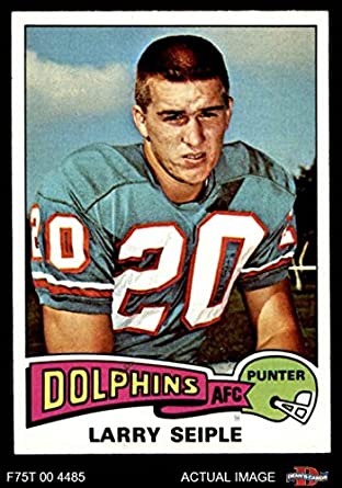Art Collectibles Seiple Dean's amp; Topps Dolphins Miami Cards Nm com 8 1975 22 Larry - Fine Card Amazon Dolphins football mt