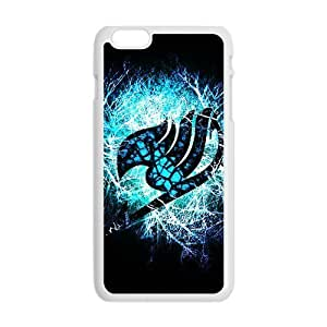 Blue shiny Fairy Tail Cell Phone Case for Iphone 6 Plus