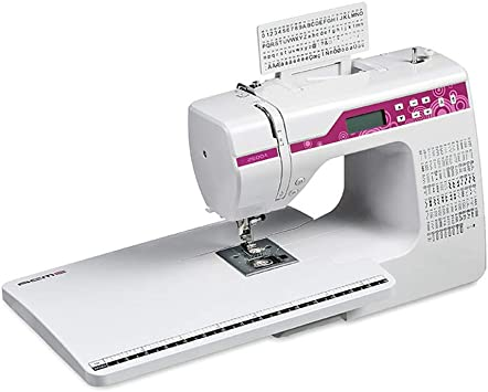 Opinión sobre Máquina de coser electrónica, hogar de múltiples funciones Pantalla LCD bordado de la banda de rodadura eléctrico automático con diferentes puntos de sutura 200,A+expansion