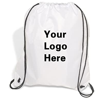 070323107f473 Amazon.com | Promotional Drawstring Bag String-A-Sling Backpack- 15 ...