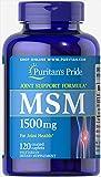 Puritan's Pride MSM 1500 mg-120 Caplets Review