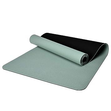 Ejercicio Premium Yoga Mat TPE 8mm Grueso - Gimnasio Aerobic ...