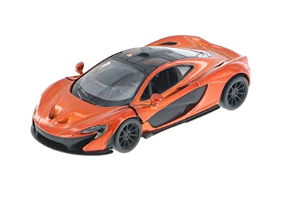 Amazon Com Kinsmart Mclaren P1 Orange 5393d 1 36 Scale Diecast