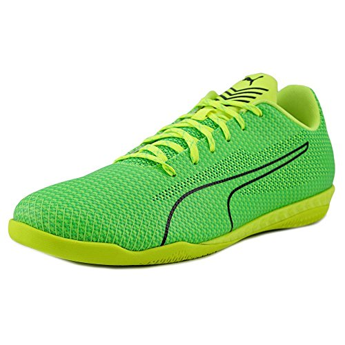 PUMA Men's 365 Ignite CT Soccer Shoe, Green Gecko Black/Andean Toucan/Safety Yellow, 10 M US