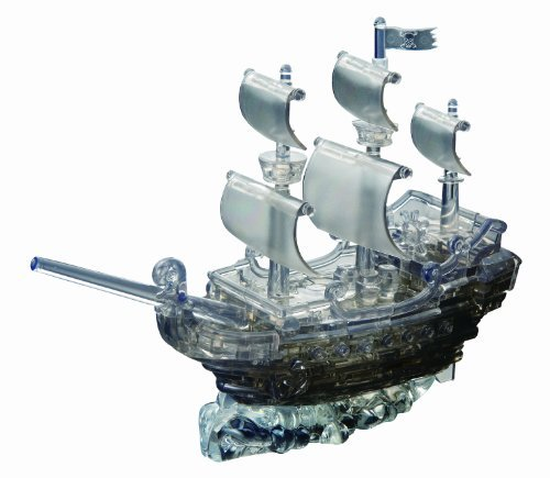 crystal puzzle pirate ship - 4