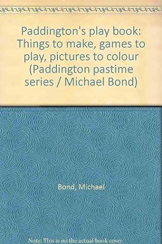 book cover of Paddington\'s Play Book