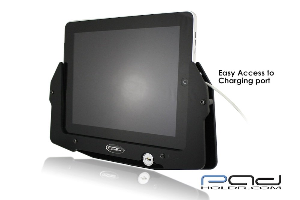 Padholdr Utility Series Premium Locking Tablet Dash Kit for 2006-2013 Kenworth Models by PADHOLDR (Image #3)