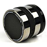 TagitalBluetooth Wireless Super Bass Speaker Mini Portable Built-in FM Rechargeable Battery Working for MP3 / iPhone / iPad / Samsung / Tablet PC / Laptop & More Bluetooth Enabled Devices