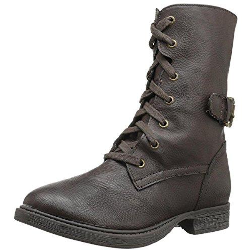 MIA Women's Ricochett Snow Boot,Brown,8.5 M (Mia Shoes Boots)
