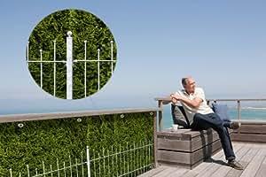 myfence con diseño: Visión Sandy como como de privacidad Protector Para Balcones En Completo lona