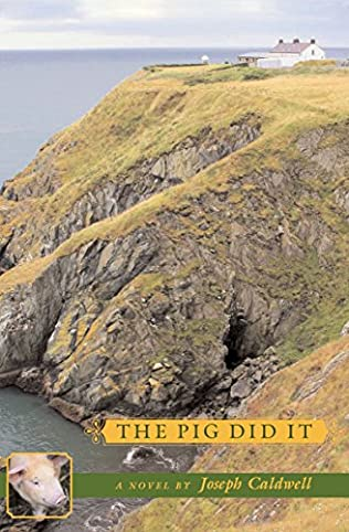 book cover of The Pig Did It