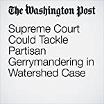 Supreme Court Could Tackle Partisan Gerrymandering in Watershed Case | Robert Barnes