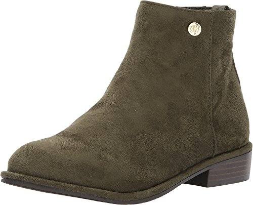 Stuart Weitzman Girls' Lowland Low Fashion Boot, Olive, 11 M US Little Kid