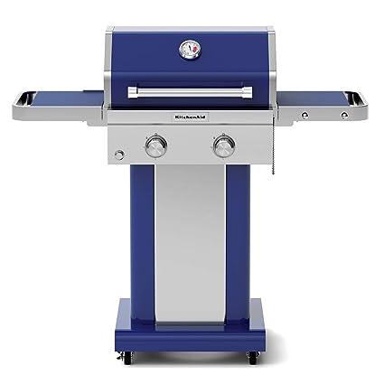 amazon com kitchenaid 720 0891g full size propane gas grill blue rh amazon com kitchenaid gas grill cover kitchenaid gas grill reviews