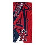 "MLB Los Angeles Angels ""Puzzle"" Beach Towel, 34"" x"