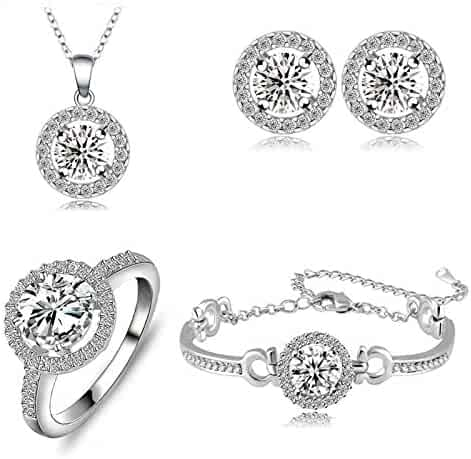 5ae869f6e7b40 Shopping December - Floral or Animals - $25 to $50 - Jewelry Sets ...