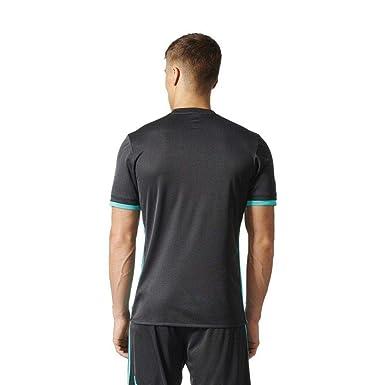 adidas Real Madrid Camiseta Temporada 2017/2018, Hombre, Negro, S ...