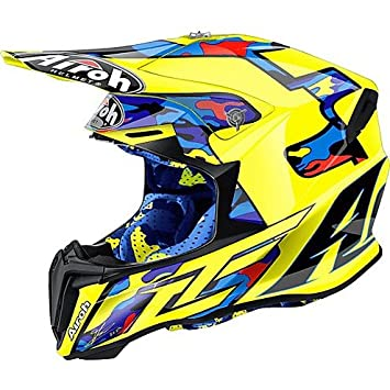 Casco Moto Cross Enduro Airoh Twist 2016 Replica TC16 Tony Cairoli MEDIUM
