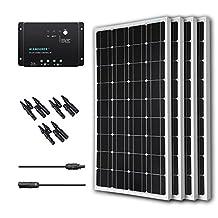 Renogy 400W 12V Monocrystalline Solar Bundle Kit