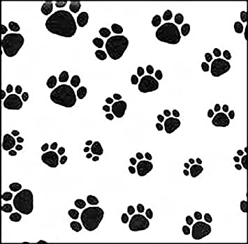 Amazoncom Dog Paw Print Tissue Papers 15 X 20 Inch 50 Sheet Pack