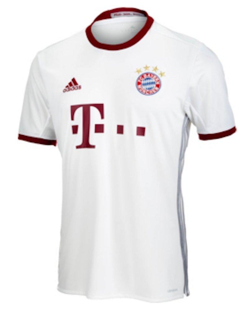 833be472 Amazon.com : adidas FC Bayern Munich UCL Jersey-White : Sports & Outdoors