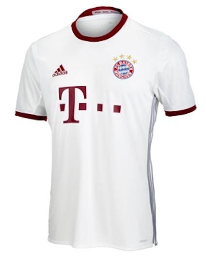 50fbf54f Amazon.com : adidas FC Bayern Munich UCL Jersey-White : Sports ...