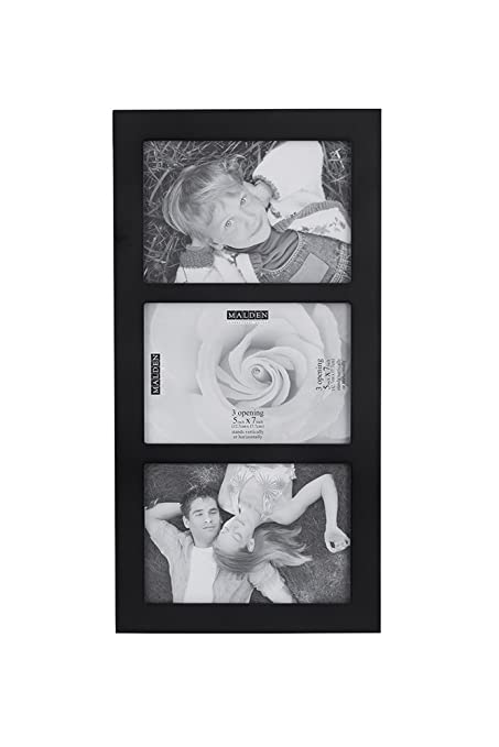 Amazon.com - Malden 5x7 3-Opening Collage Picture Frame - Displays ...