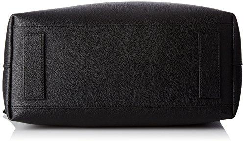 Tommy Hilfiger Effortless Novelty, Borse a secchiello Donna, Nero (Black/ Pewter), 15x25.5x33 cm (B x H x T)