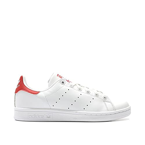 adidas Originals M20326 - Zapatos de Cuero Hombre, Color Blanco, Talla 44 2/