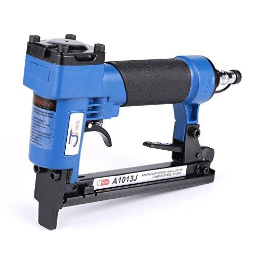 Brad Nailer Gun 2 in 1 Multifunction Air Woodworking Nail Gun14 Gauge 3/4 Inch to 2 Inch Orange (A1013J Blue) by BORNTUN