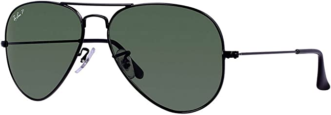 black aviator sunglasses ray ban