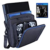 PS4 Carrying Bag,Waterproof Hard Case for PS3,PS4,PS4 Slim PSP System and Accessories Multifunctional Handbag/shoulderbag, Console Carrying Case